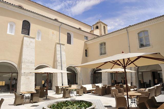 1Cloister terrace 1