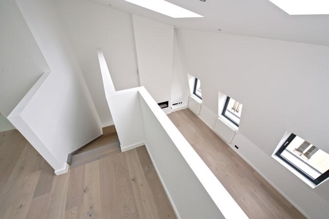 Cette photo correspond à la rénovation d'un appartement à bruxelles effectué par notre société 7eme dimension